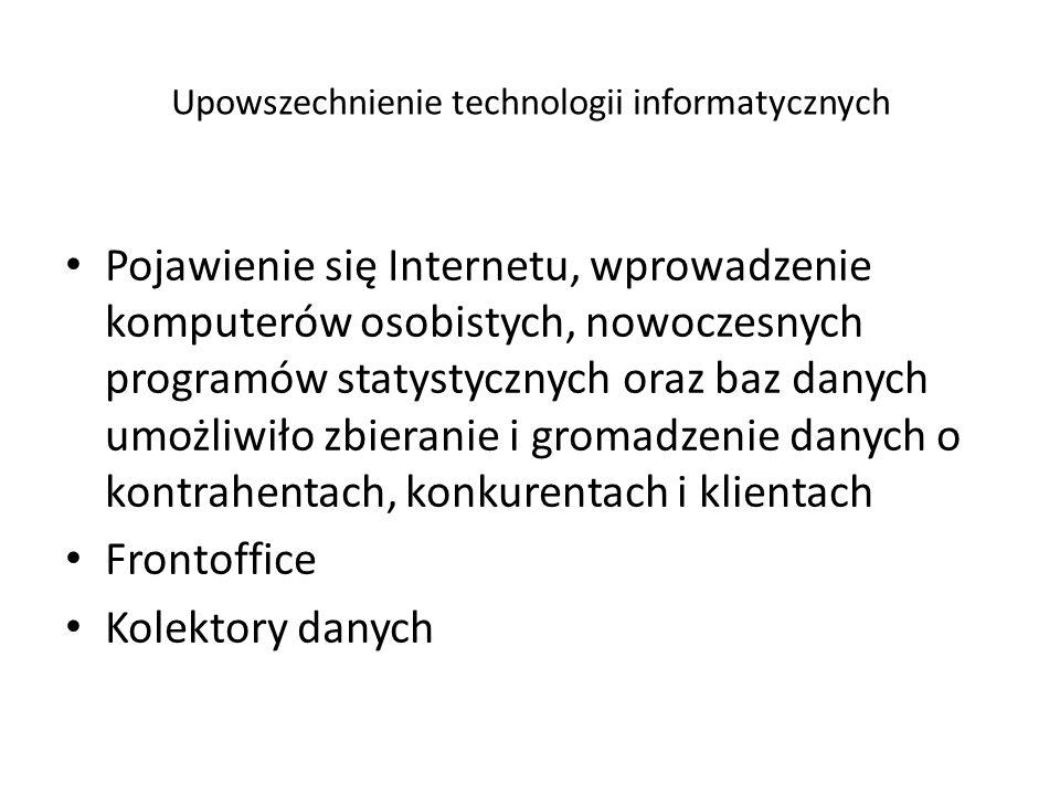 Upowszechnienie technologii informatycznych