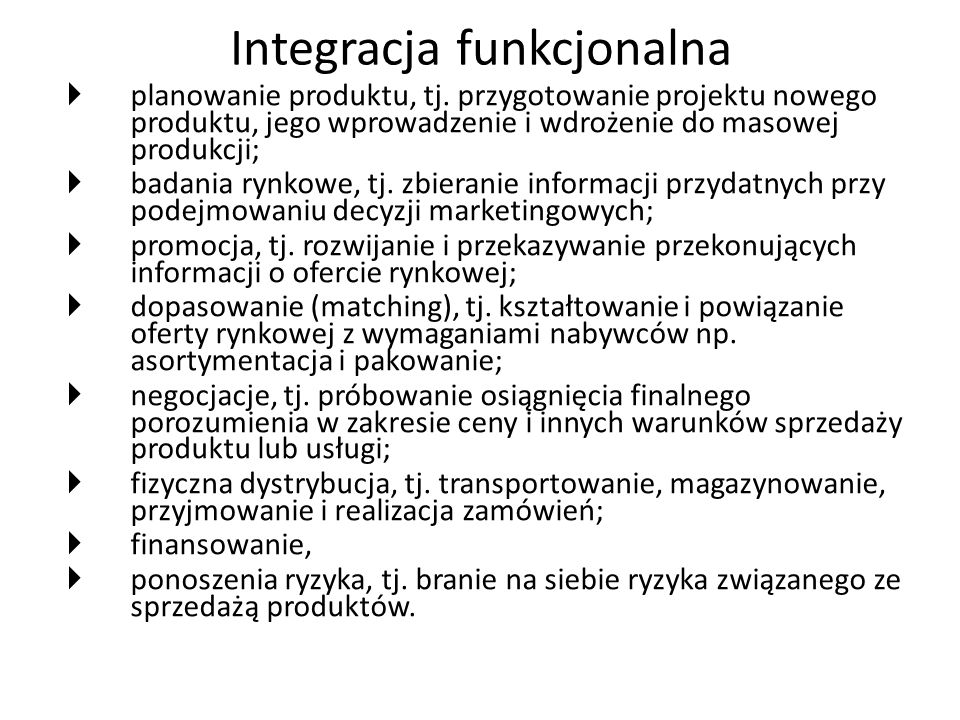 Integracja funkcjonalna
