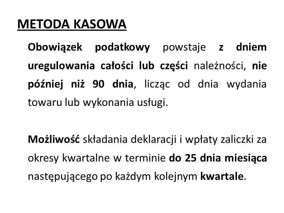 METODA KASOWA