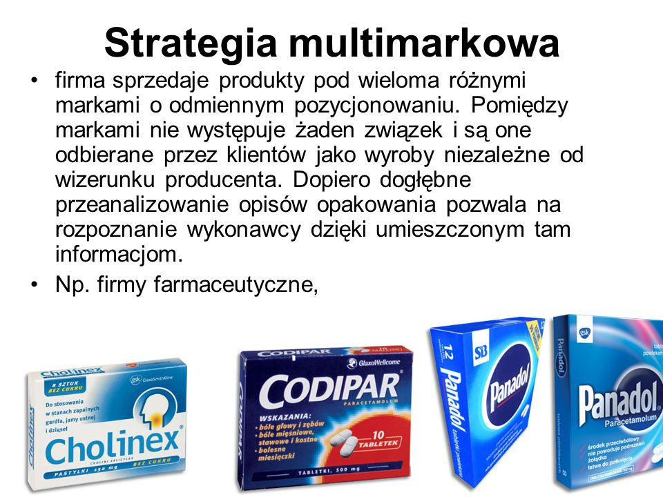 Strategia multimarkowa