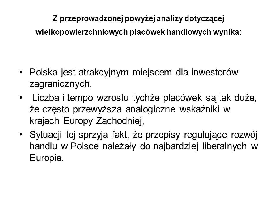 Polska jest atrakcyjnym miejscem dla inwestorów zagranicznych,