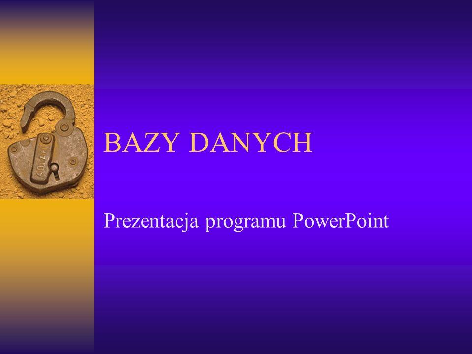 Prezentacja programu PowerPoint