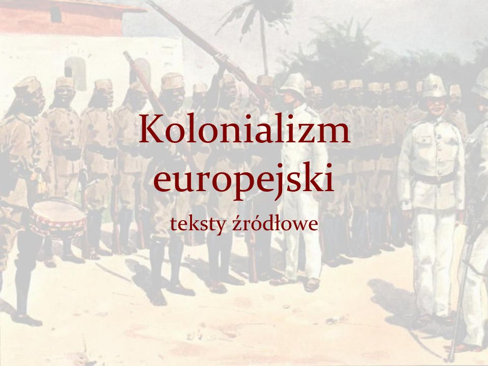 Kolonializm europejski
