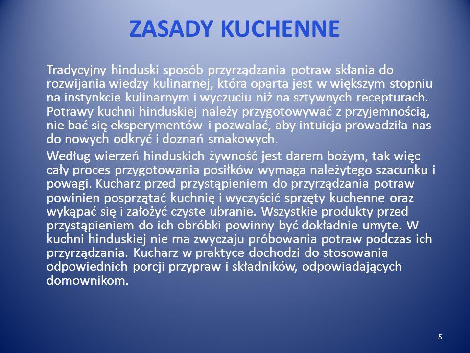 ZASADY KUCHENNE