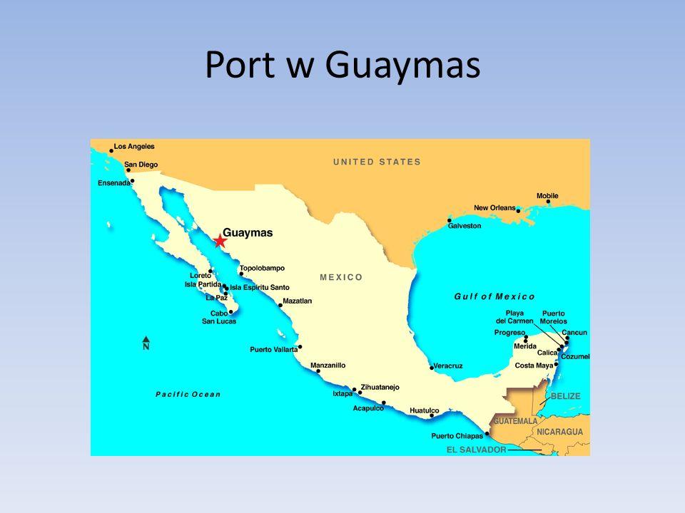 Port w Guaymas