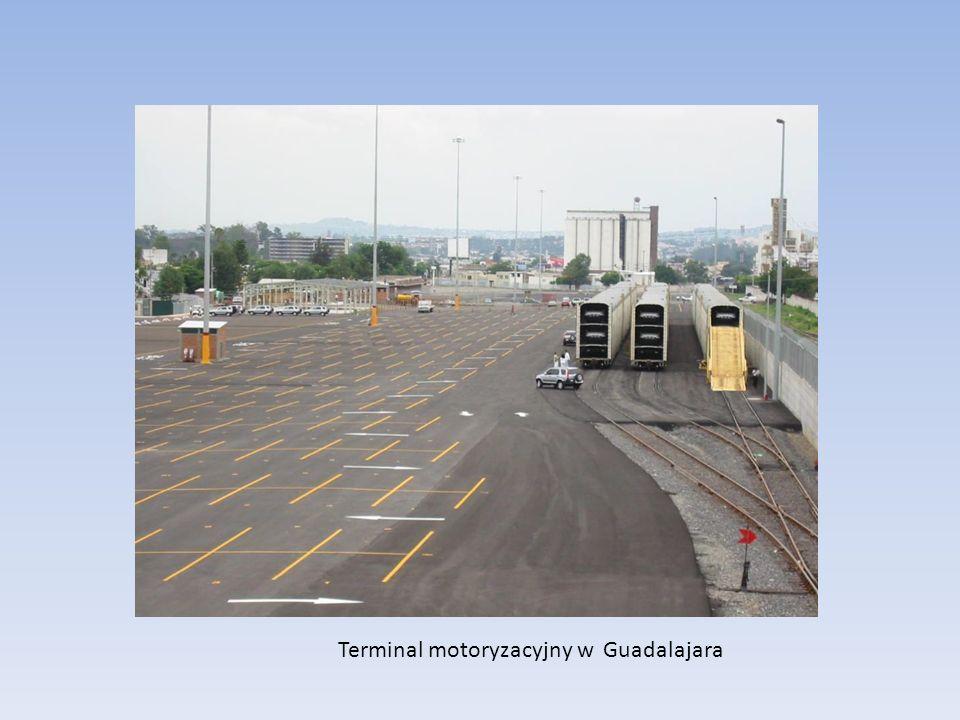 Terminal motoryzacyjny w Guadalajara