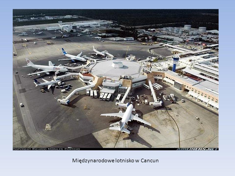 Międzynarodowe lotnisko w Cancun