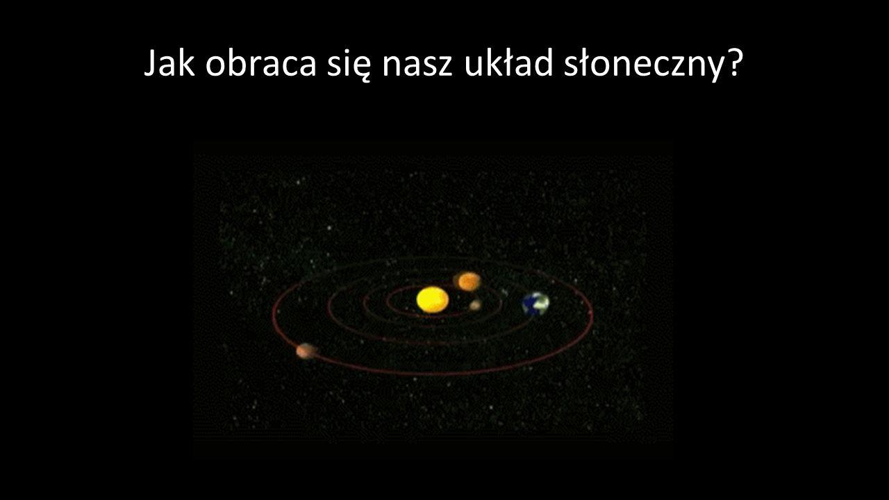 Jak obraca się nasz układ słoneczny