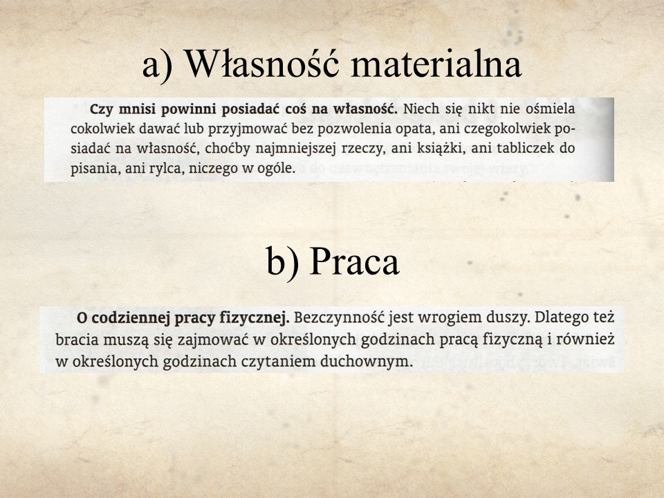 a) Własność materialna
