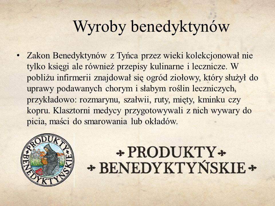 Wyroby benedyktynów