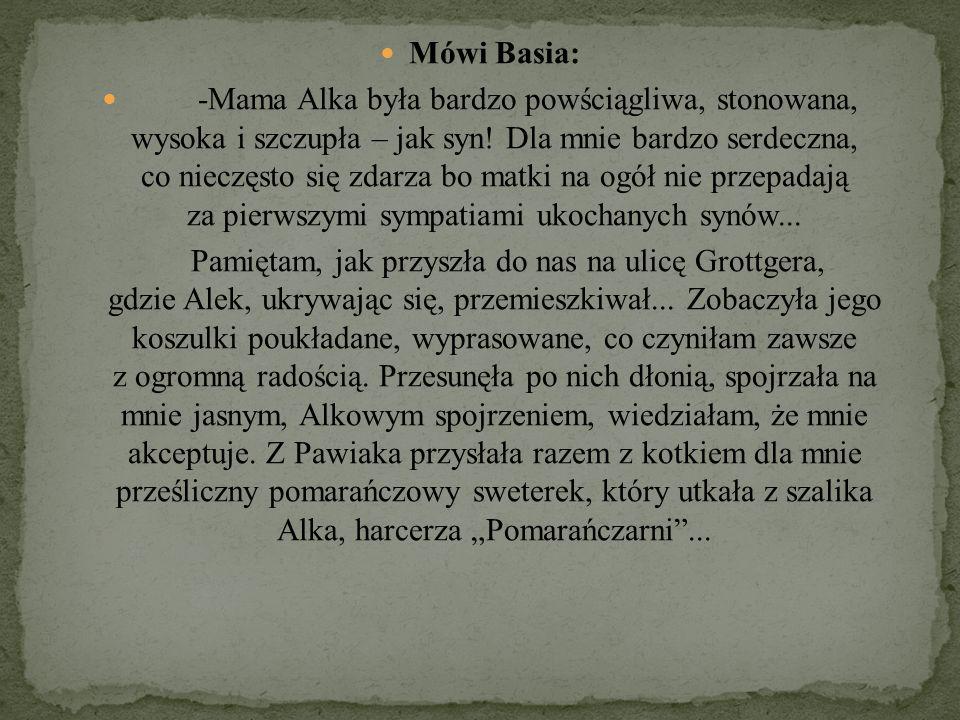Mówi Basia: