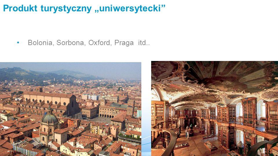 """Produkt turystyczny """"uniwersytecki"""