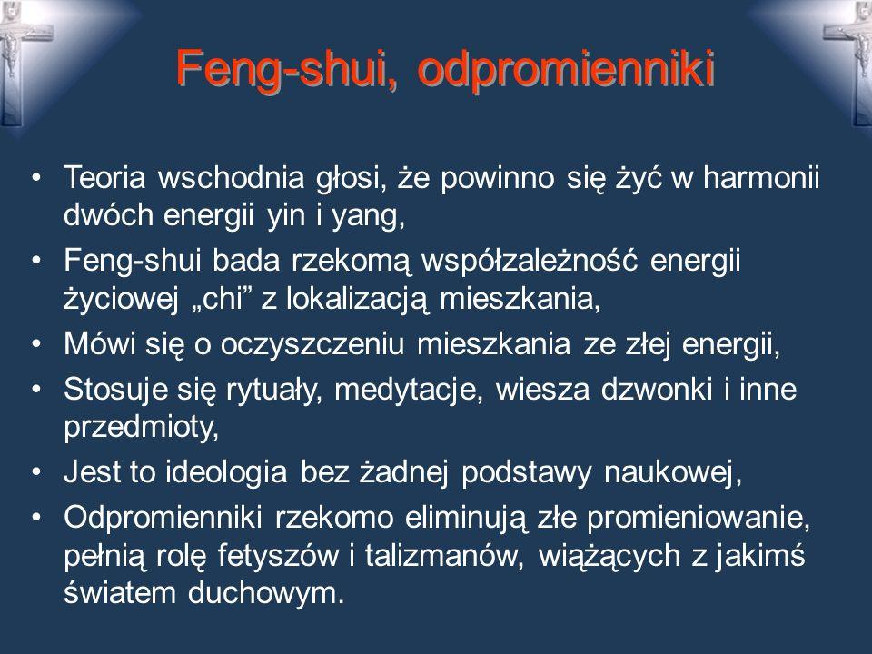 Feng-shui, odpromienniki