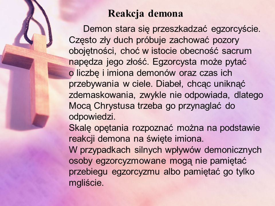 Reakcja demona
