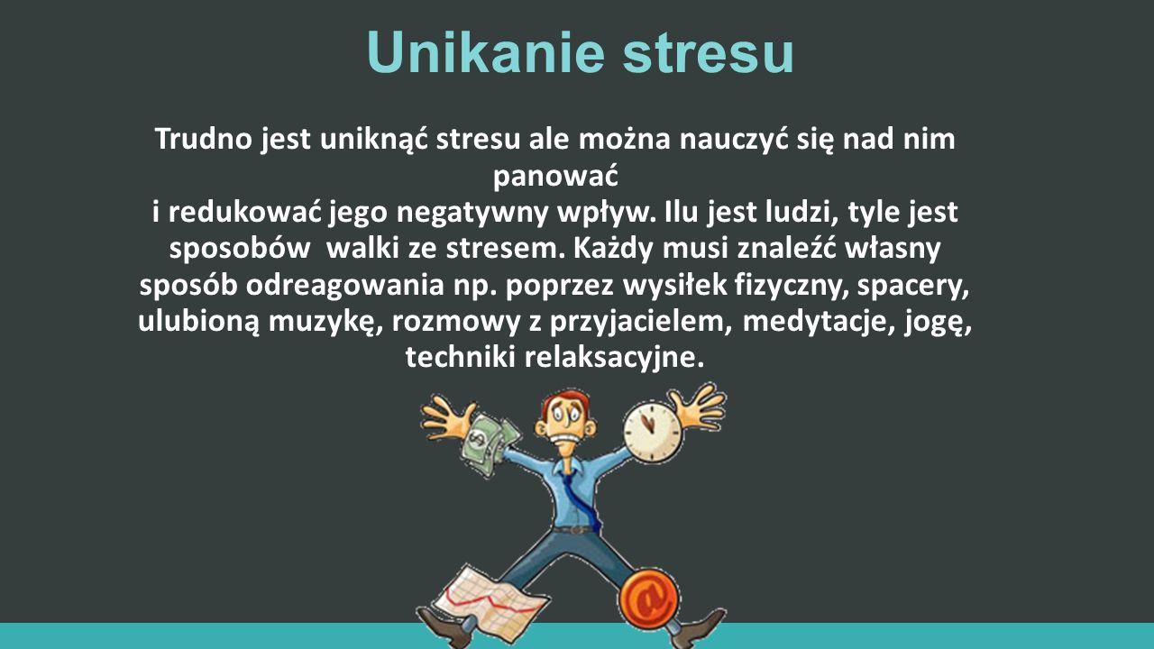 Unikanie stresu