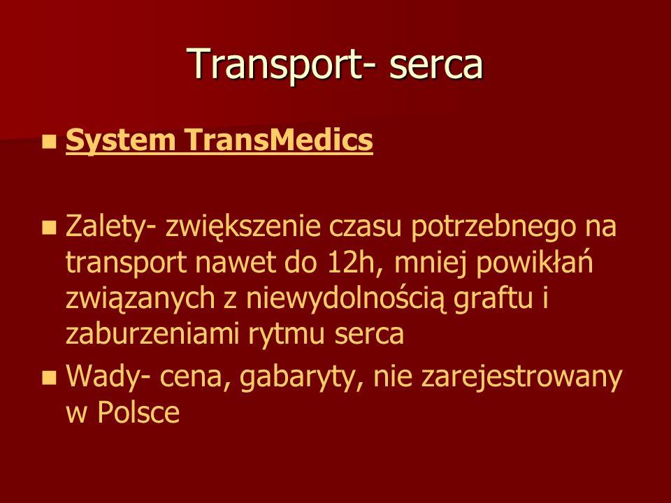 Transport- serca System TransMedics
