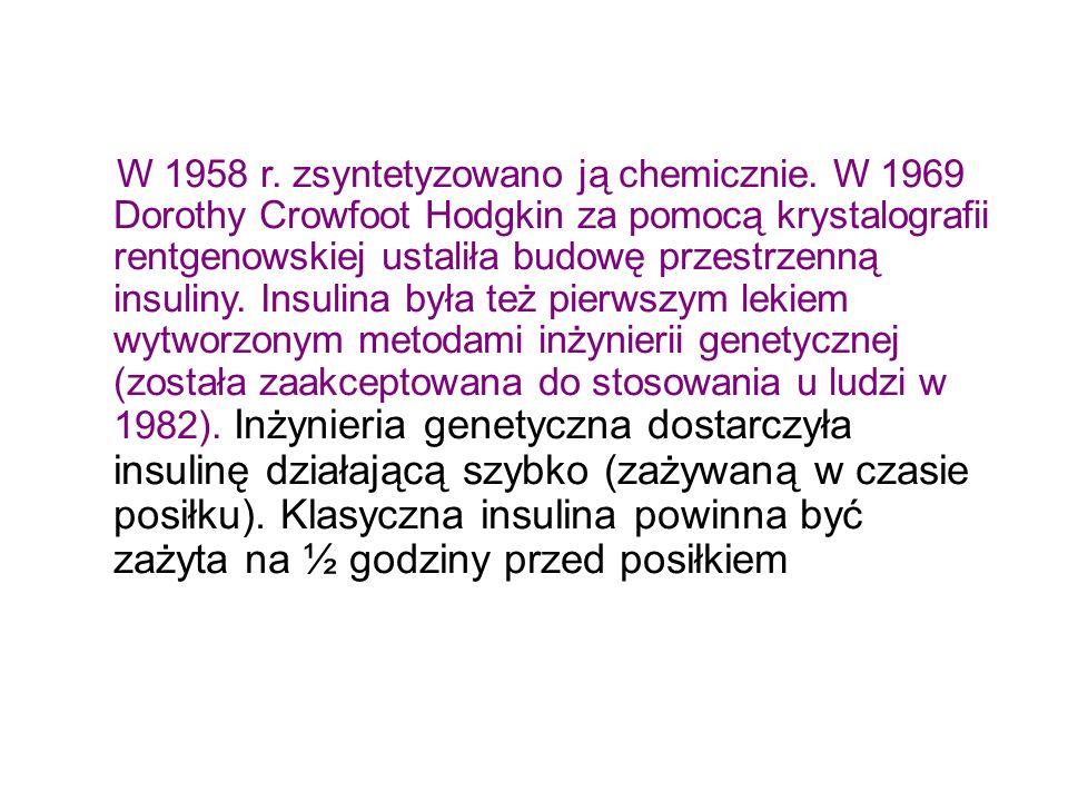 W 1958 r. zsyntetyzowano ją chemicznie