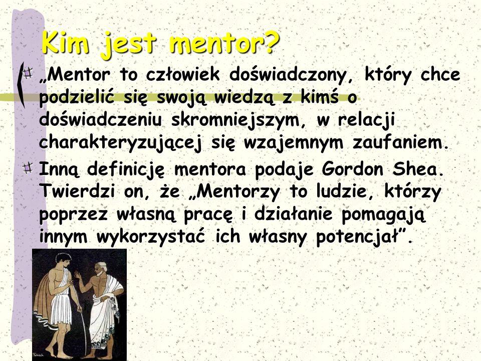 Kim jest mentor
