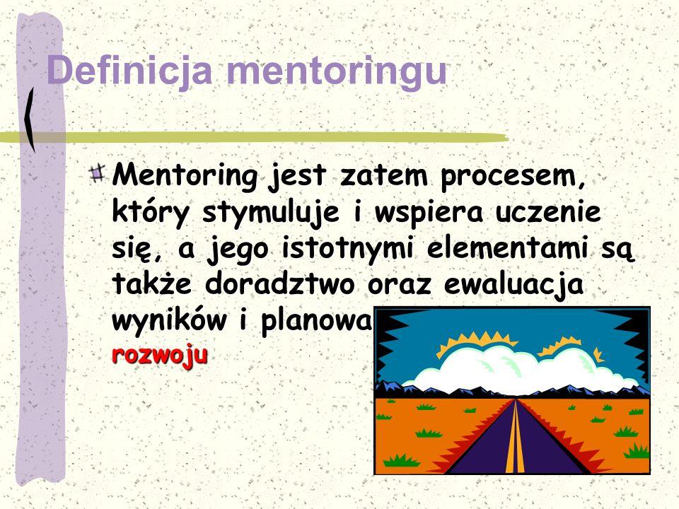 Definicja mentoringu