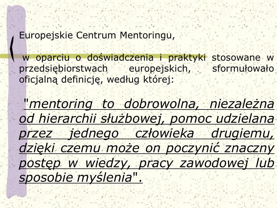 Europejskie Centrum Mentoringu,