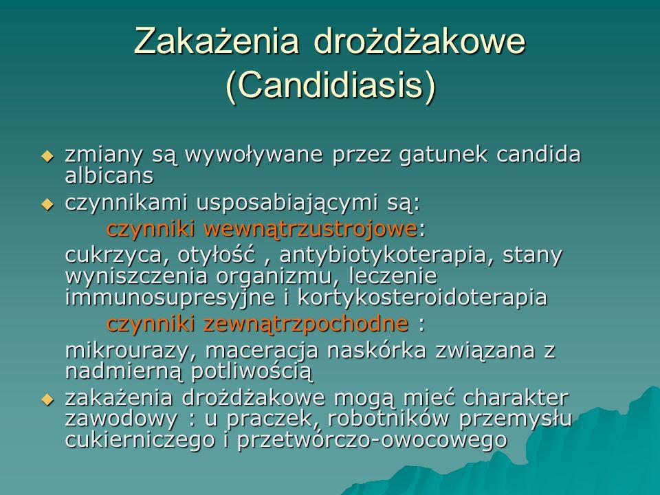Zakażenia drożdżakowe (Candidiasis)