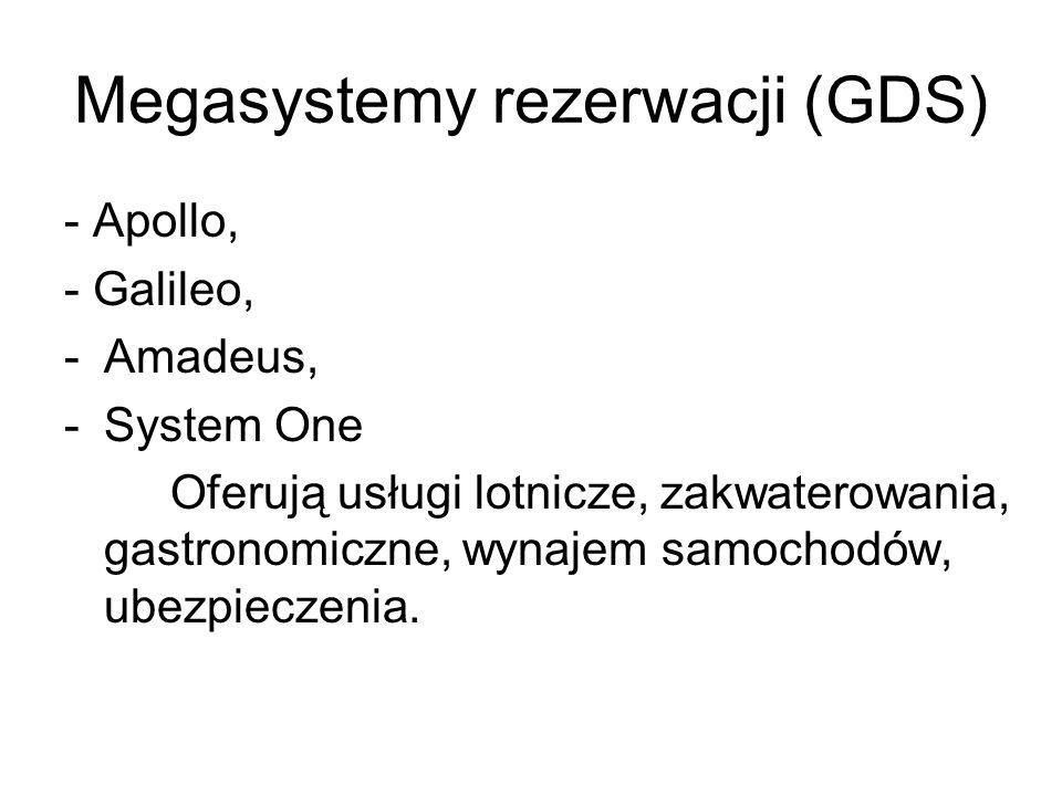 Megasystemy rezerwacji (GDS)