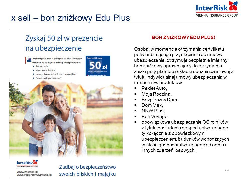x sell – bon zniżkowy Edu Plus