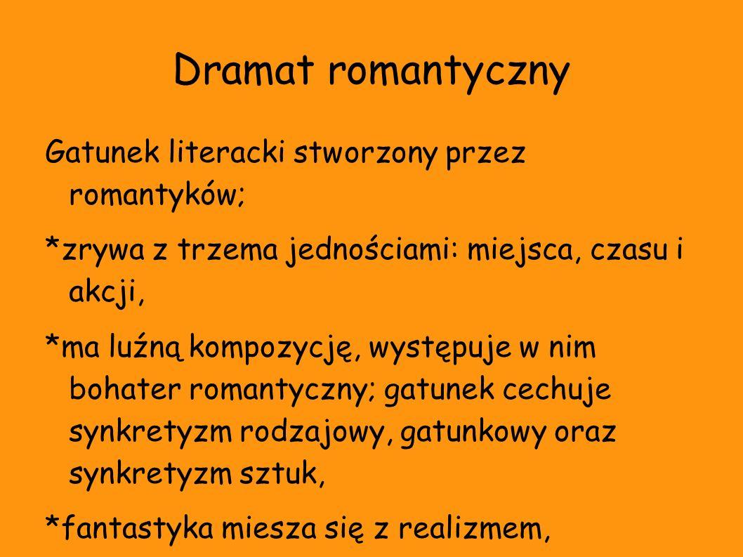 Dramat romantyczny