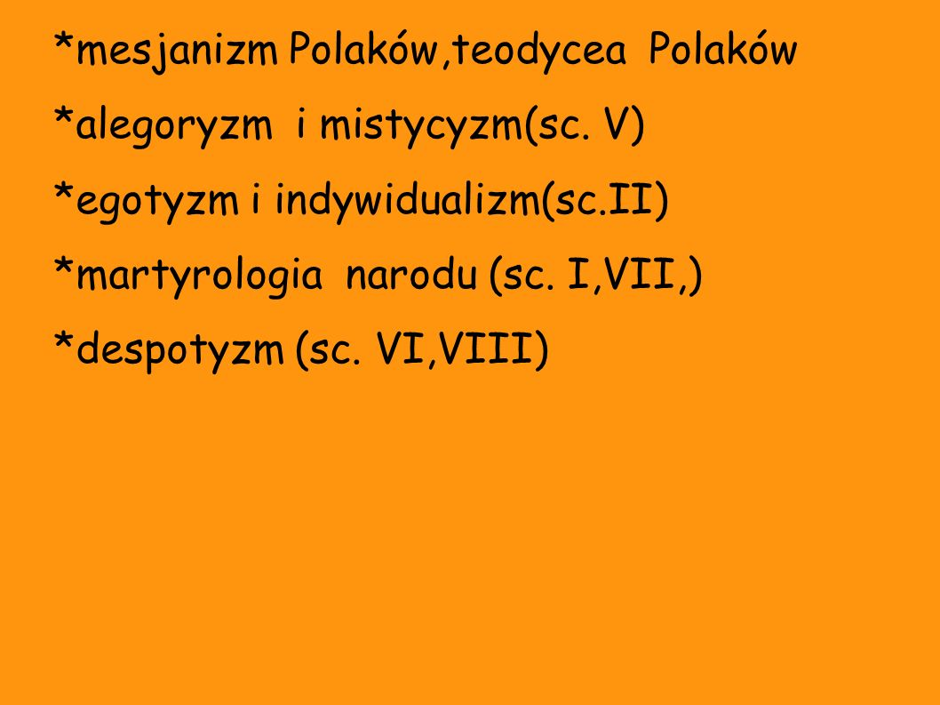 *mesjanizm Polaków,teodycea Polaków