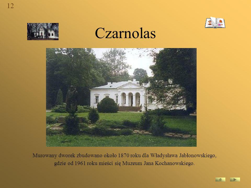 gdzie od 1961 roku mieści się Muzeum Jana Kochanowskiego.