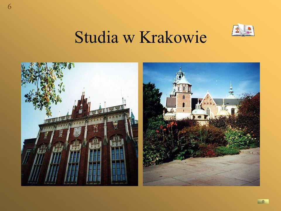 6 Studia w Krakowie