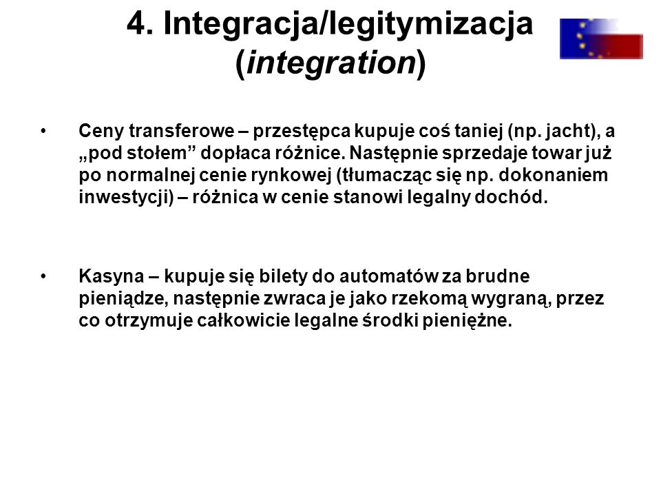 4. Integracja/legitymizacja (integration)