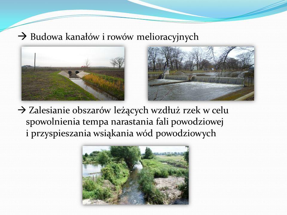  Budowa kanałów i rowów melioracyjnych