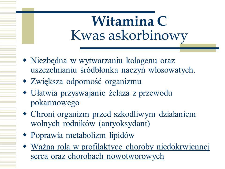 Witamina C Kwas askorbinowy