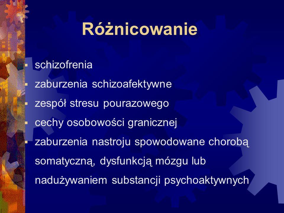 Różnicowanie schizofrenia zaburzenia schizoafektywne