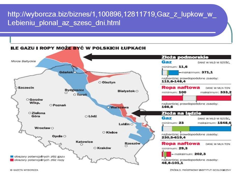http://wyborcza.biz/biznes/1,100896,12811719,Gaz_z_lupkow_w_Lebieniu_plonal_az_szesc_dni.html