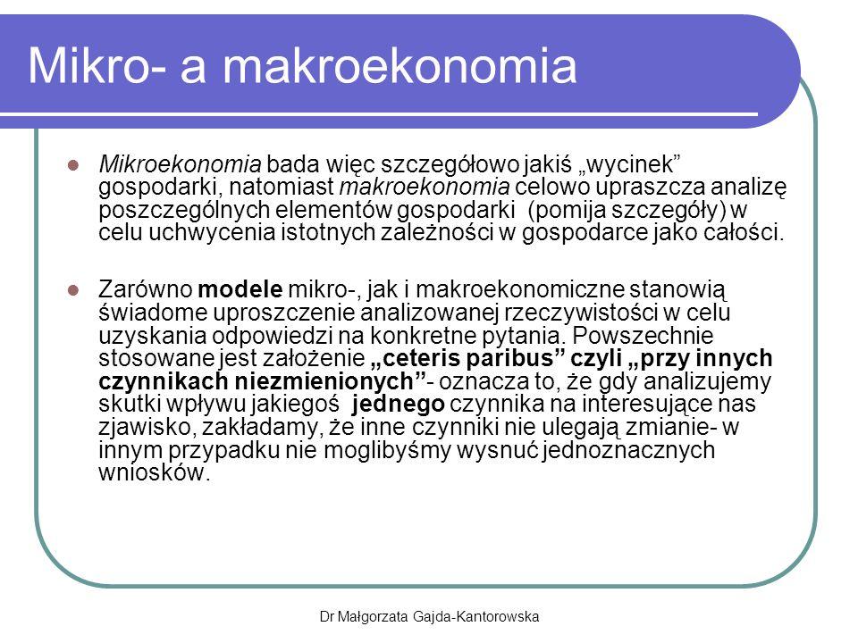 Mikro- a makroekonomia