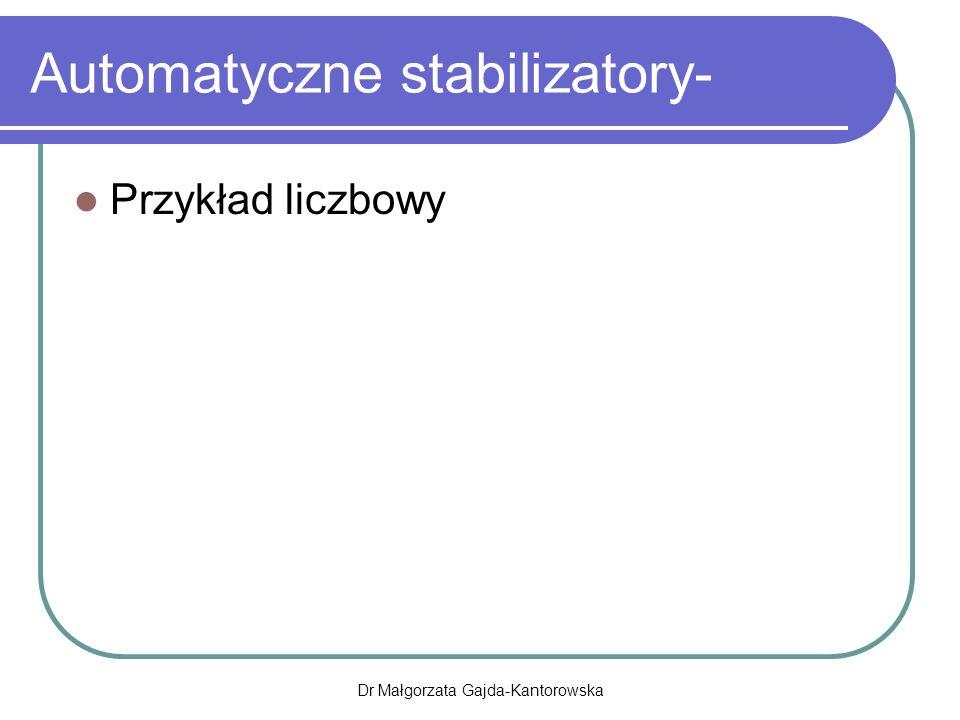 Automatyczne stabilizatory-