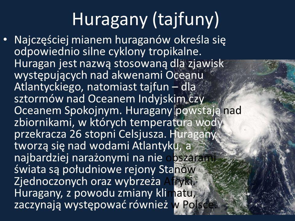 Huragany (tajfuny)