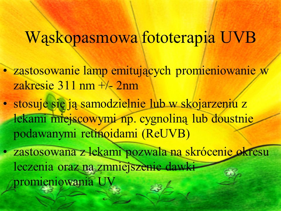 Wąskopasmowa fototerapia UVB