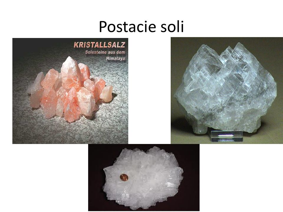 Postacie soli