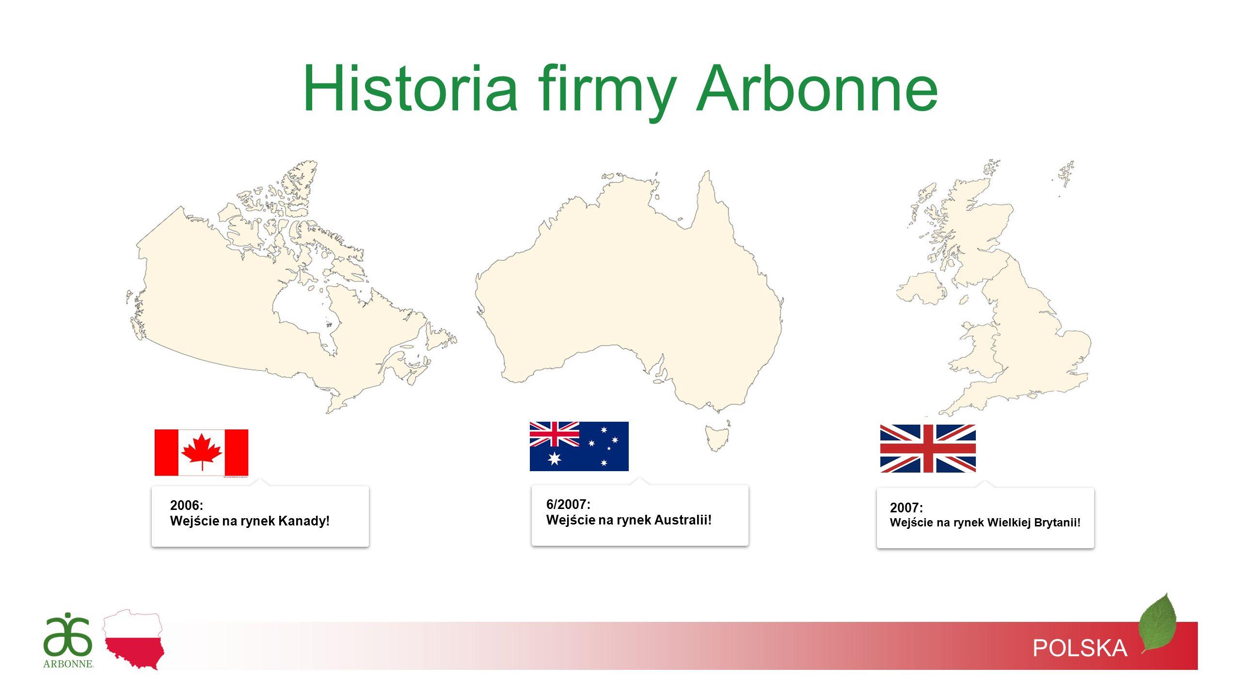 Historia firmy Arbonne