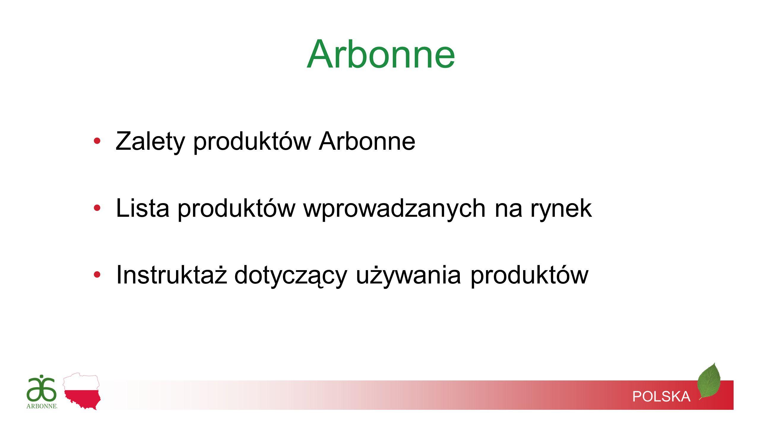Arbonne Zalety produktów Arbonne