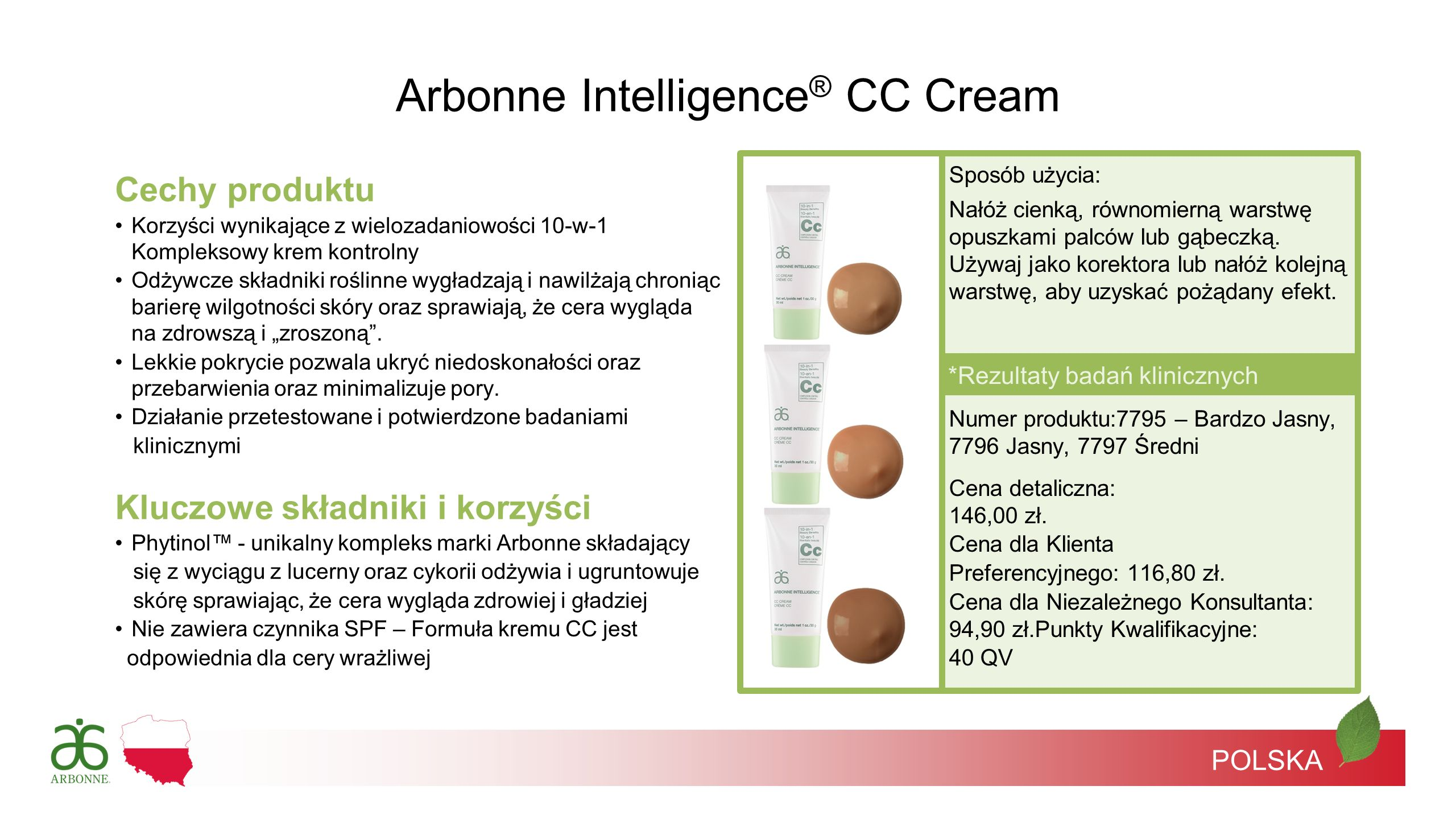 Arbonne Intelligence® CC Cream