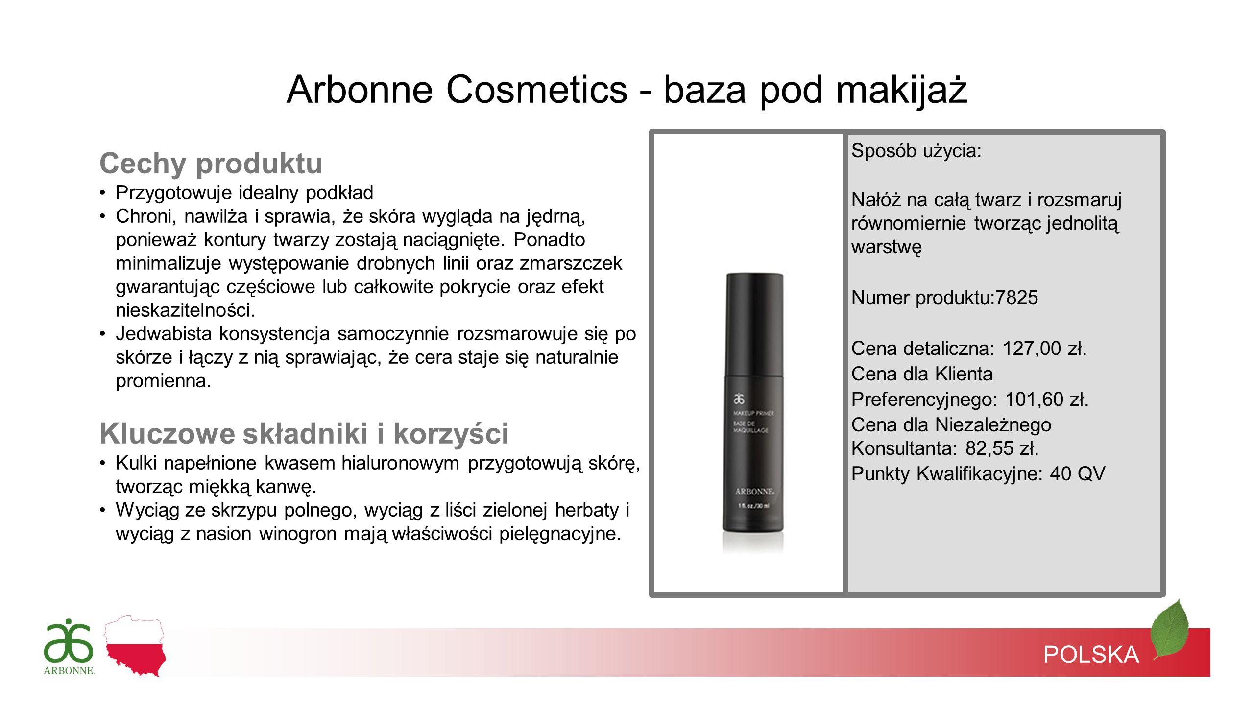 Arbonne Cosmetics - baza pod makijaż