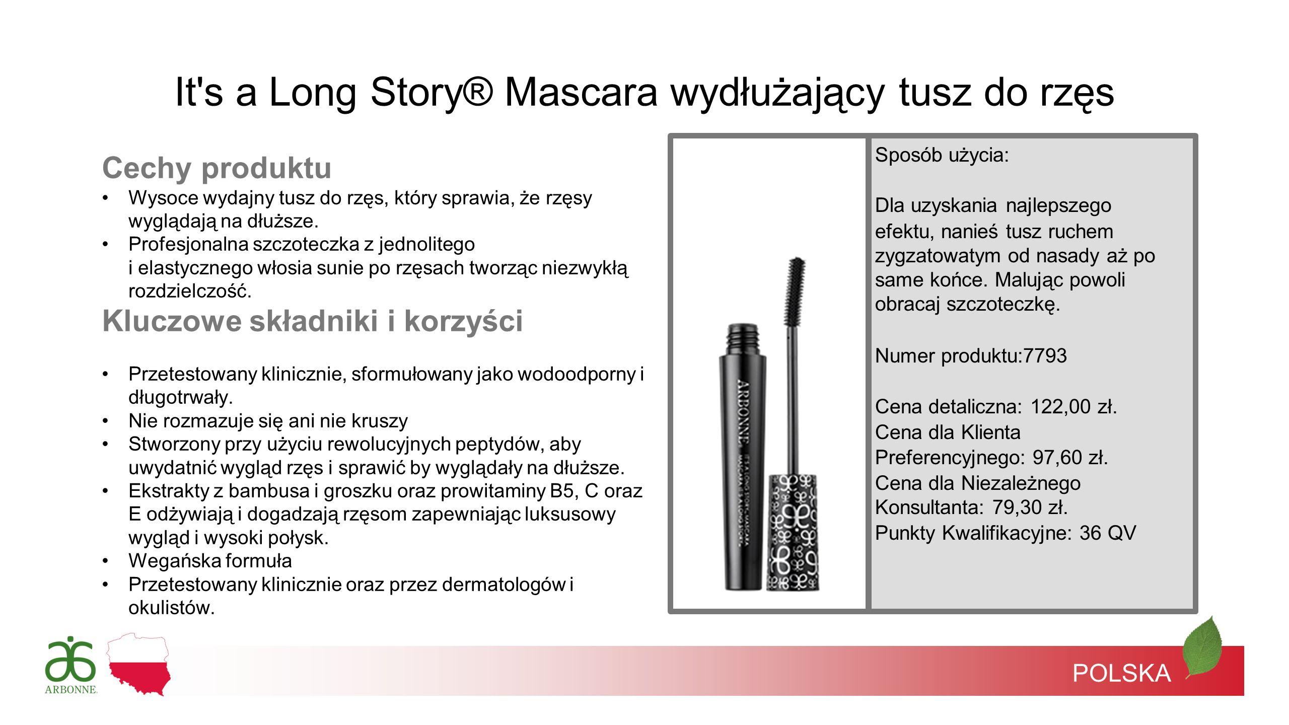 It s a Long Story® Mascara wydłużający tusz do rzęs