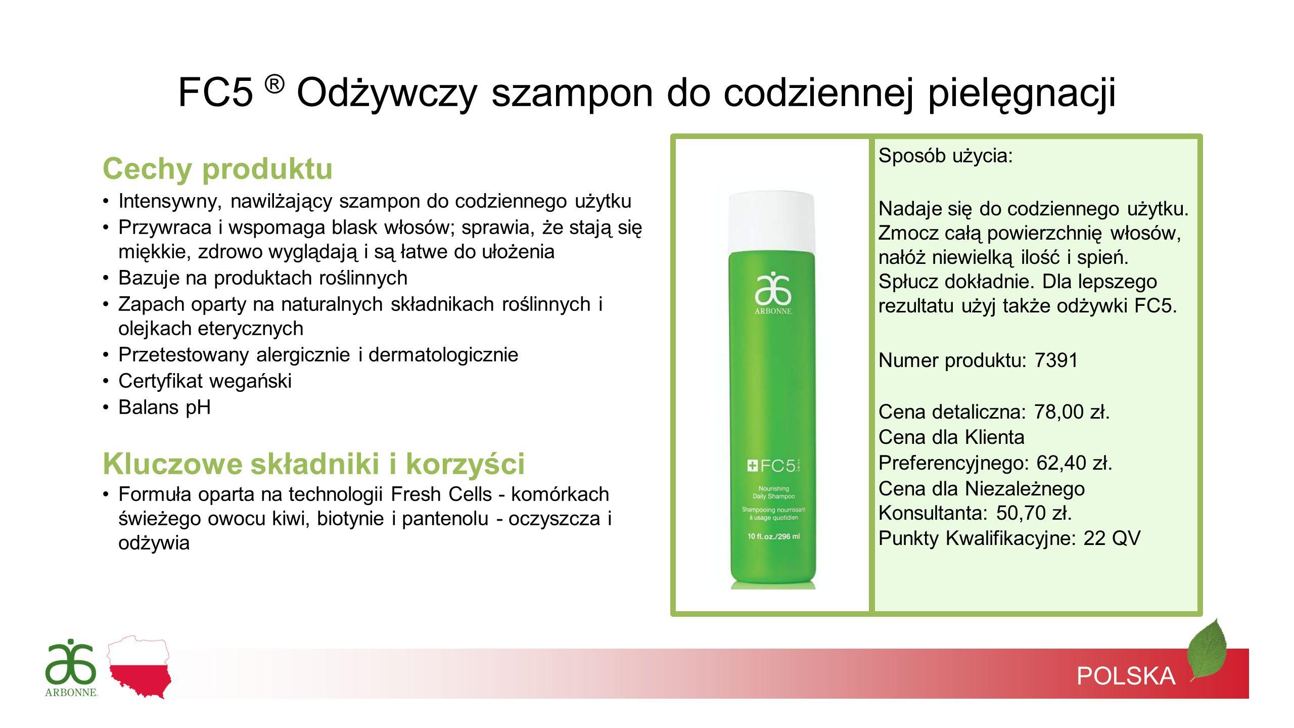 FC5 ® Odżywczy szampon do codziennej pielęgnacji