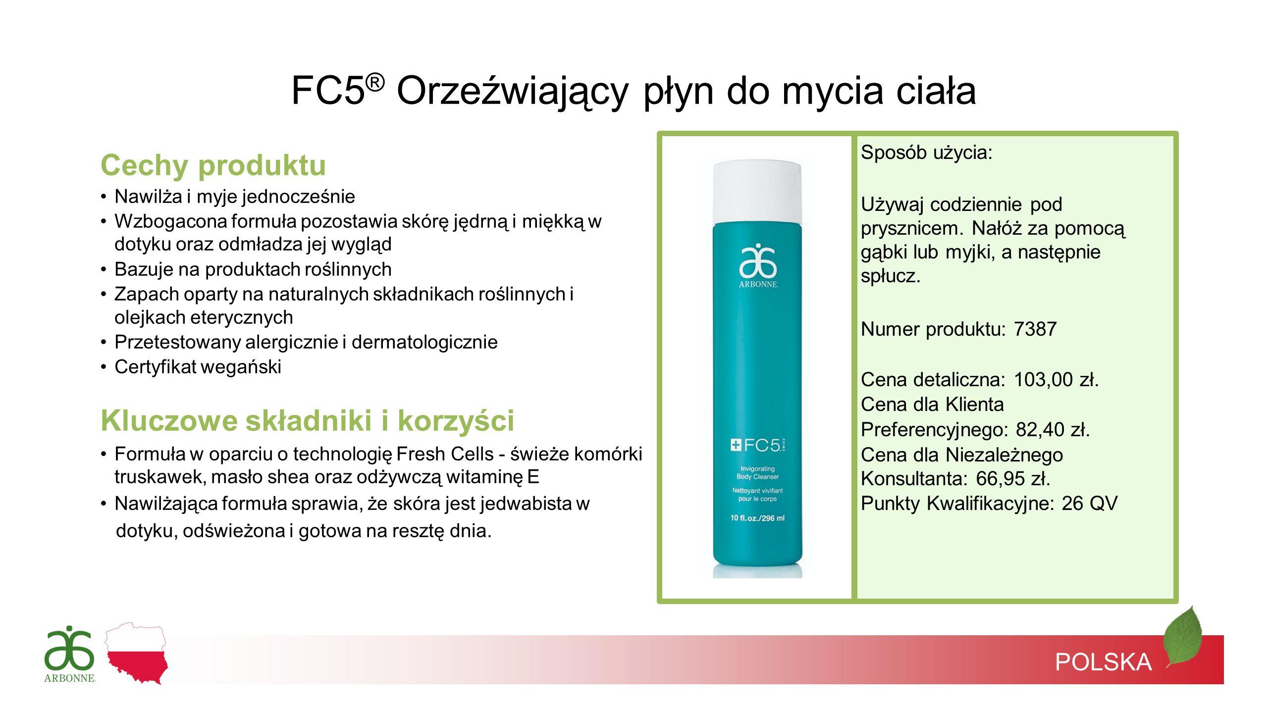 FC5® Orzeźwiający płyn do mycia ciała