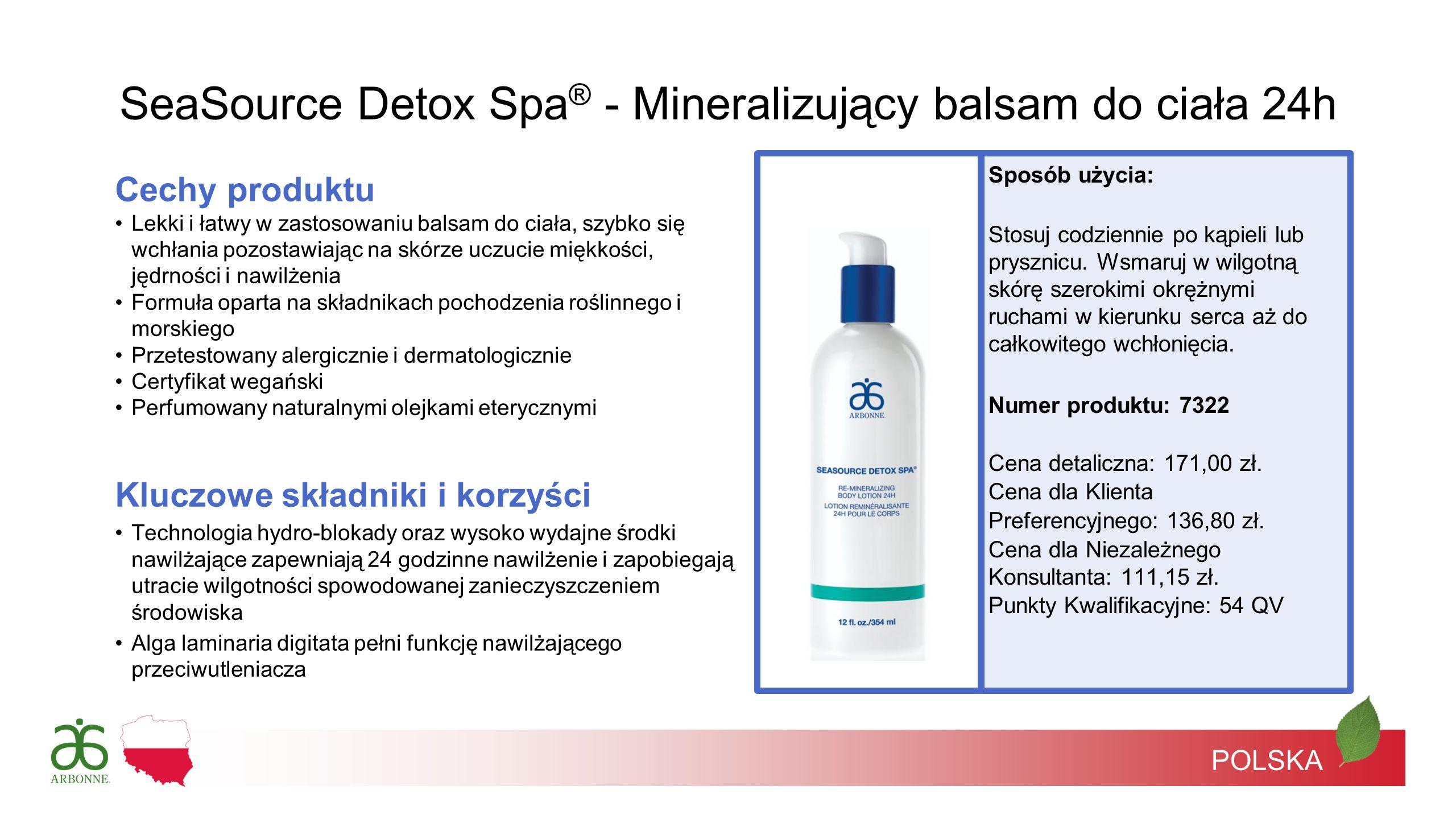 SeaSource Detox Spa® - Mineralizujący balsam do ciała 24h