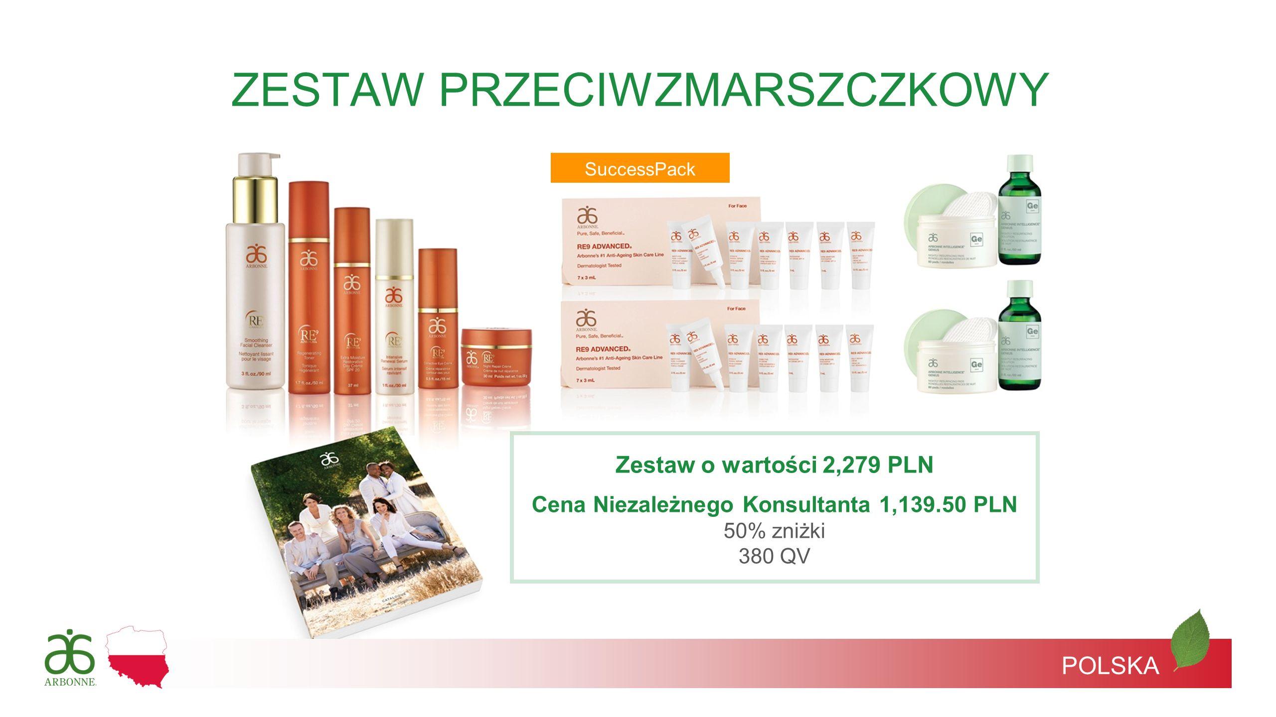 Cena Niezależnego Konsultanta 1,139.50 PLN